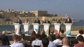 Alemania, Italia, Francia y Malta pactan un sistema para redistribuir migrantes