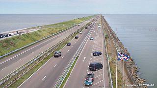 Archive - Le Afsluitdijk, le 26 août 2016.
