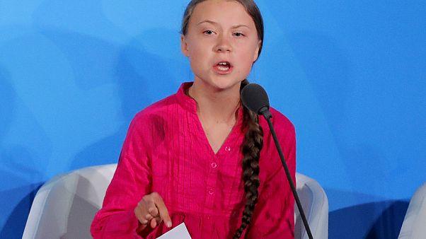 Sírva tartotta meg beszédét az ENSZ-ben Greta Thunberg