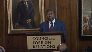 João Lourenço no Conselho para os Negócios Estrangeiros dos Estados Unidos