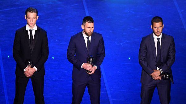 """FİFA """"en iyileri"""" açıkladı: Messi 6. kez yılın futbolcusu"""