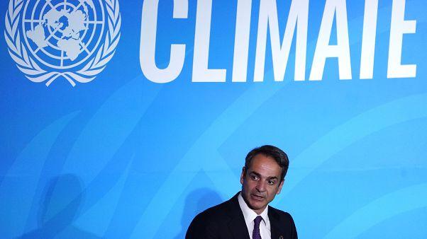 Μητσοτάκης στον ΟΗΕ για το κλίμα: Νέα εθνική πολιτική