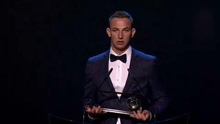Zsóri Dániel kapta a Puskás-díjat