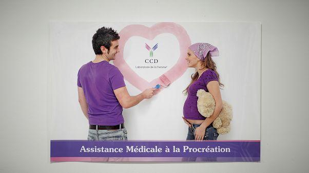 Frankreichs Parlament berät Ausweitung von künstlicher Befruchtung