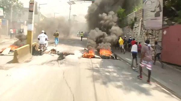 صدامات بين الشرطة ومتظاهرين في هايتي كانوا يحتجون ضد الطبقة السياسية الحاكمة