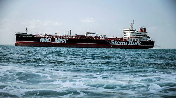 نفتکش استنا ایمپرو که تحت پرچم بریتانیا در آب های ایران توقیف شده بود