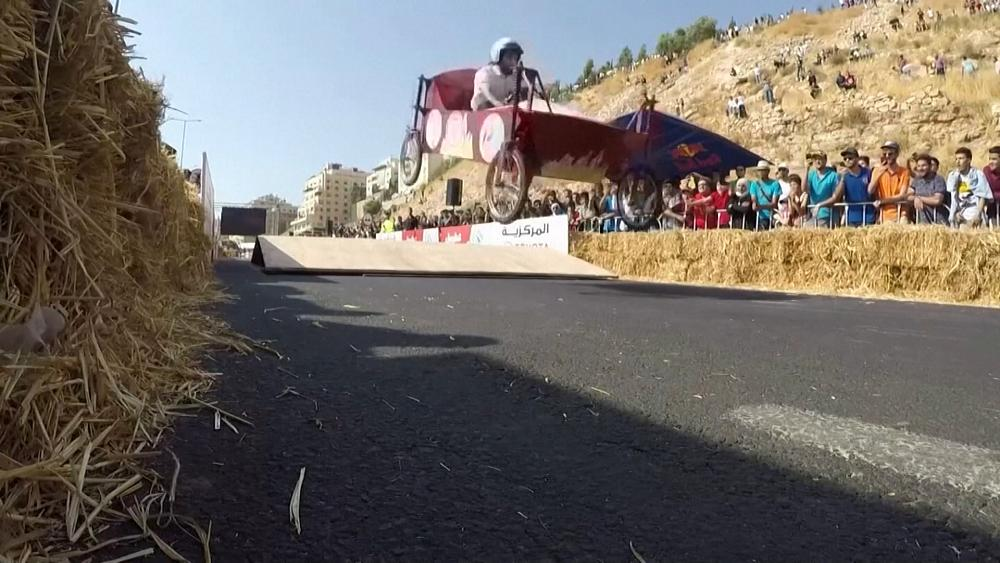 Jordan goes all Wacky Races as it hosts homemade cars contest