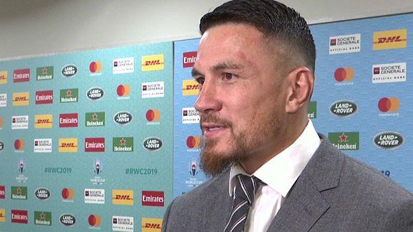 Yeni Zelanda Rugby Milli Takım kaptanı Sonny Bill Williams