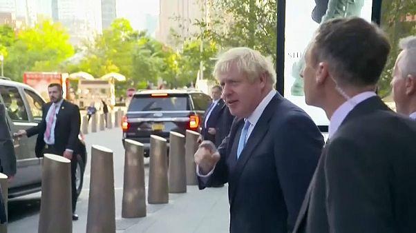 Boris Johnson reage à decisão do Supremo Tribunal britânico