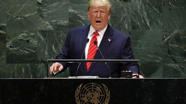 """Trump: """"El futuro no pertenece a los globalistas, pertenece a los patriotas"""""""