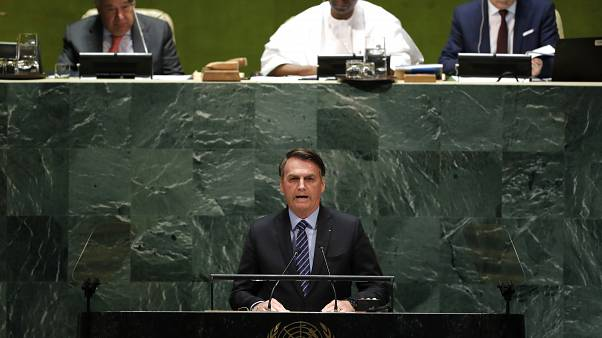 Bolsonaro'dan BM'de Amazon tepkisi: Ormanlar dünyanın değil Brezilya'nın