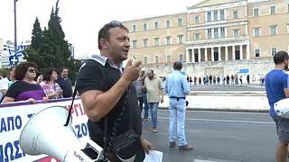 Grèce :  première grève contre Mitsotakis