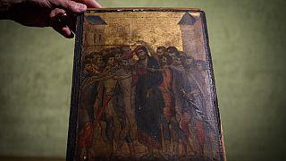 Mutfakta asılı tablo, Rönesans ressamı Cimabue'ye ait 6 milyon euroluk tarihi eser çıktı