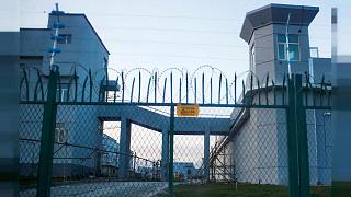Doğu Türkistan'ın Dabançenk bölgesinde bir toplama kampı