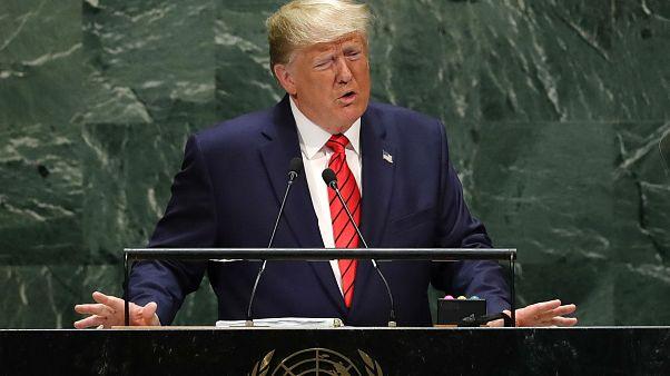 Küreselleşmeyi reddetmeliyiz diyen Trump'tan dünya liderlerine milliyetçilik çağrısı