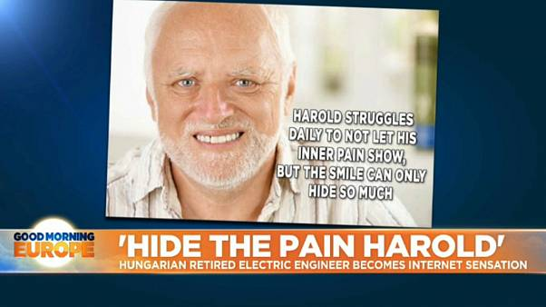 Hide the pain Harold: How a retired Hungarian man reclaimed his image from memesters