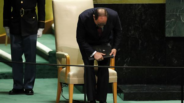 عبد الفتاح السيسي بعد إلقائه كلمة في الجمعية العامة للأمم المتحدة