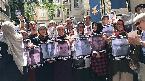 Kayıp eşi Sümeyye Yılmaz gözaltına alınıp serbest bırakıldı; Gergerlioğlu Yılmaz'a destek verdi