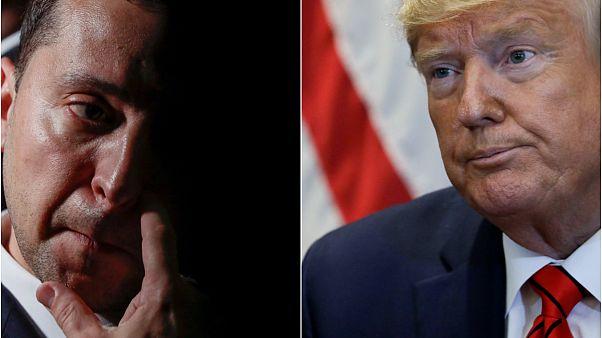 Demokratlar, Ukrayna lideri Zelenskiy ile 'Biden'ı görüşen' Trump için azledilme süreci başlattı