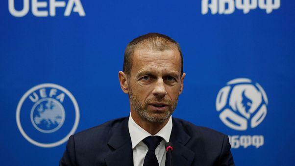 UEFA Başkanı Aleksander Ceferin