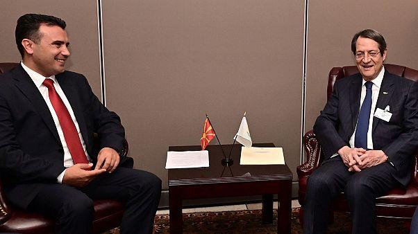 Συνάντηση του Προέδρου της Δημοκρατίας, Νίκου Αναστασιάδη, με τον πρωθυπουργό της Β. Μακεδονίας, Zoran Zaev