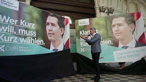 Österreich hat die Wahl - und Altkanzler Kurz (33) scheint sicher gesetzt