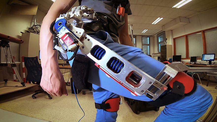 Un exoesqueleto para evitar dolores lumbares