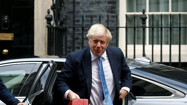 Nach Zwangspause: Boris Johnson stellt sich britischem Parlament