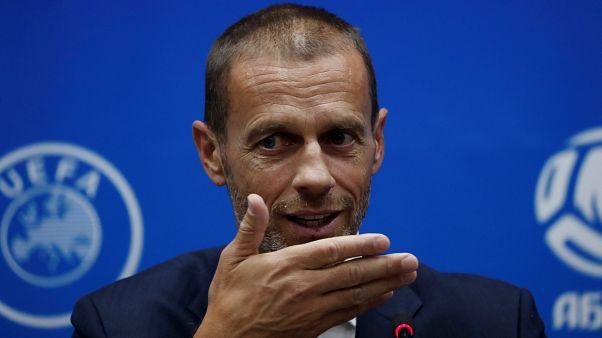 Aleksander Čeferin revela novidades no mundo da UEFA