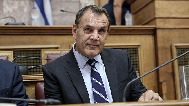 Ο υπουργός Εθνικής Άμυνας, Νίκος Παναγιωτόπουλος