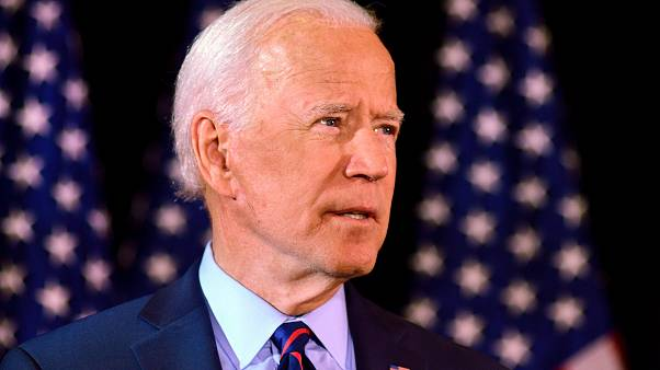 Former U.S. Vice President and Democratic presidential hopeful Joe Biden makes a statement during an event in Wilmington, Delaware, U.S., September 24, 2019.