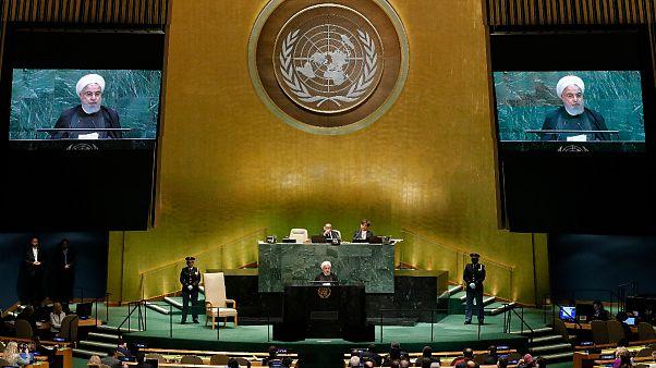 Irans Präsident Rohani vor der UN-Vollversammlung