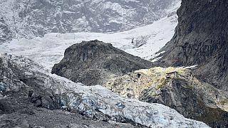 Glaciar do Monte Branco pode colapsar