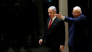 الرئيس الإسرائيلي رؤوفين ريفلين
