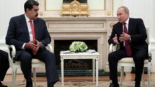 Rusya, Maduro'nun Moskova ziyareti sırasında Venezuela'ya askeri birlik gönderdi