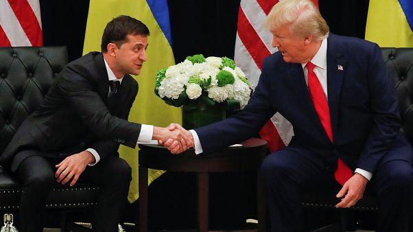 Selenskyj und Trump