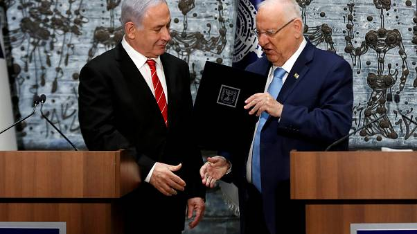 Netanyahu encarregue de formar governo