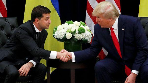 ترامپ در دیدار با زلنسکی: ما همدیگر را معروفتر کردیم اما فساد پسر بایدن وحشتناک است