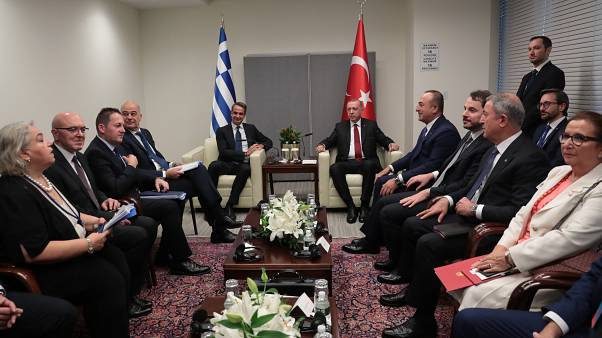 ABD'deki son gününde Cumhurbaşkanı Erdoğan'dan yoğun diplomasi trafiği