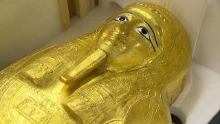 """بعد سرقته في 2011 ... مصر تستعيد """"التابوت الذهبي للكاهن"""" من الولايات المتحدة"""
