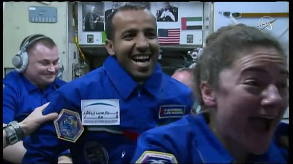 رائد الفضاء الإماراتي هزاع علي المنصوري