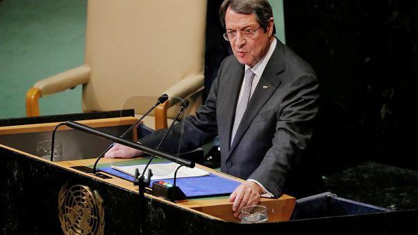 Το απόγευμα η ομιλία Αναστασιάδη στην ΓΣ του ΟΗΕ