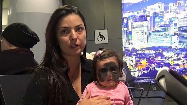 Une Américaine traverse le globe pour tenter de guérir sa fille malade