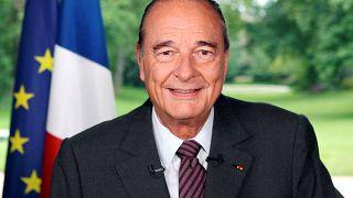 الرئيس الفرنسي الأسبق جاك شيراك