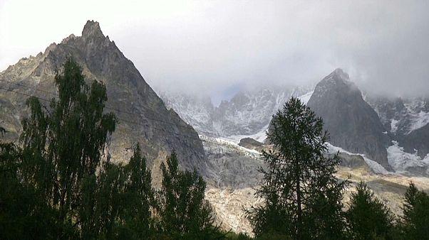 Mont-Blanc: 250.000 Kubikmeter Gletscher drohen abzurutschen