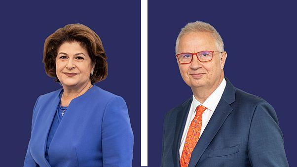 Rovana Plumb y Laszlo Trocsanyi