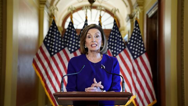House Speaker Nancy Pelosi (D-CA) announces the House of Representatives will launch a formal inquiry into the impeachment of U.S. President Donald Trump.