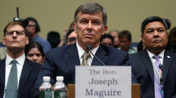 Joseph Maguire testifies