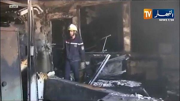 الصورة نقلاً عن تلفزيون النهار الجزائري