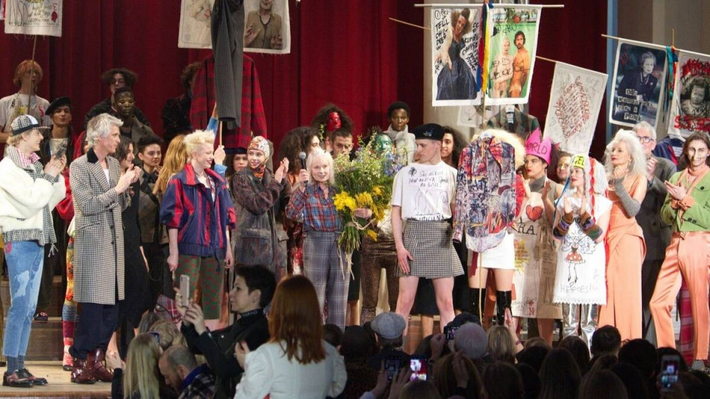 How Vivienne Westwood Wants To Bring Down Consumerism And The Rot Living